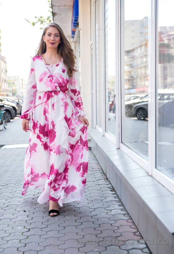 Rochie Eleganta Lunga In Clos