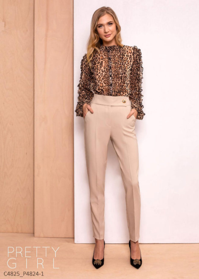 Camasa Pretty Girl Animal Print