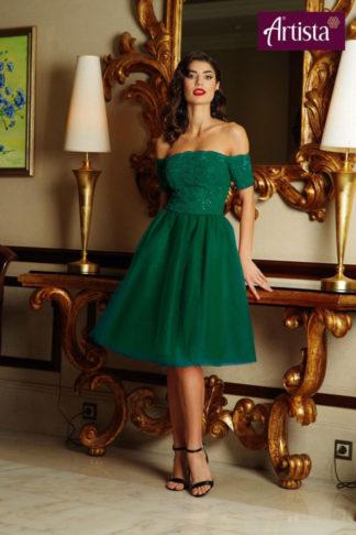 Rochie Eleganta Verde Artista