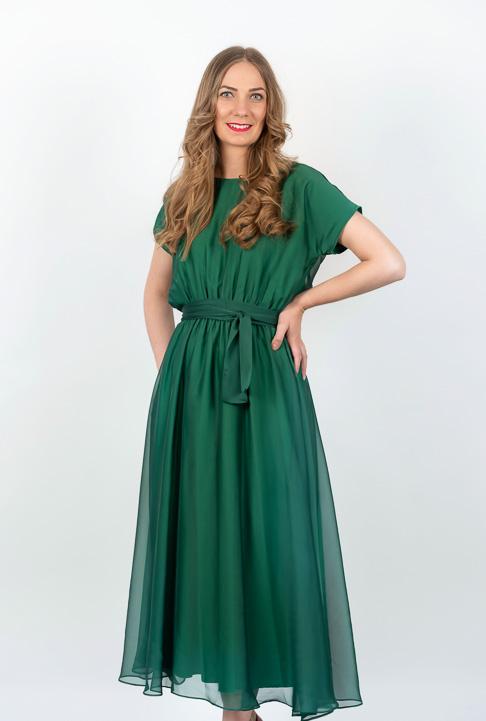 Rochie Verde In Clos