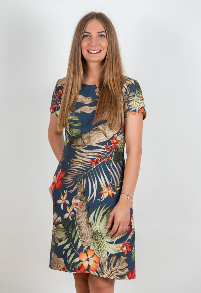 Rochie Lejera De Vara Cu Imprimeu Floral