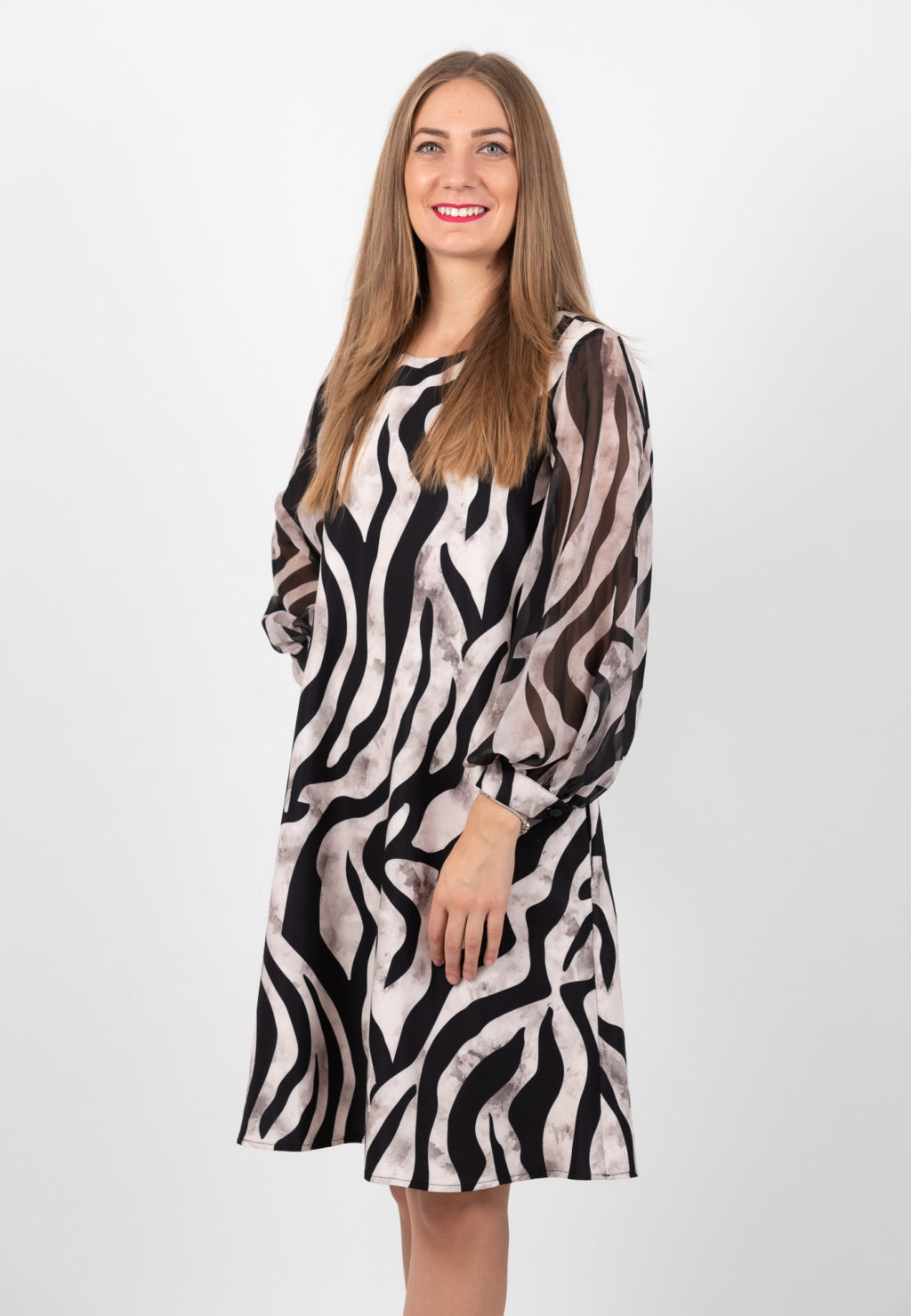 Rochie Animal Print In A