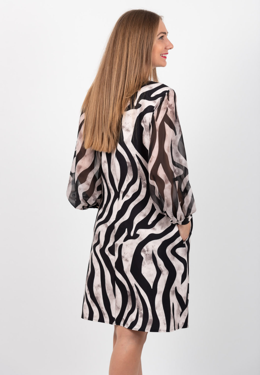 Rochie Animal Print In A Spate