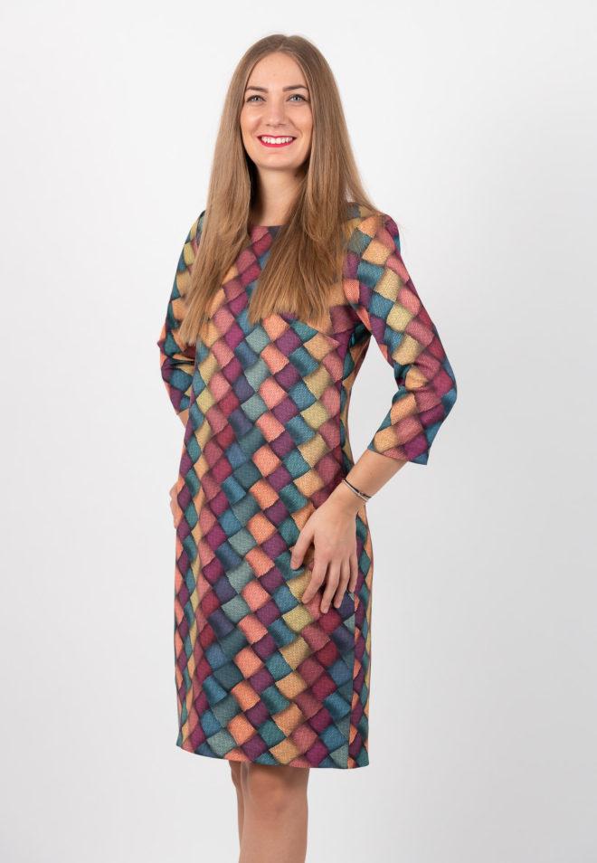 Rochie Scurta Multicolora
