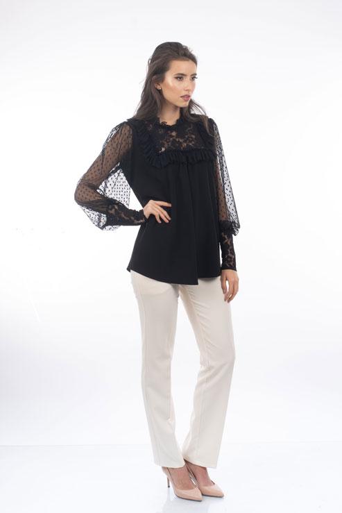 Bluza Neagra La Donna
