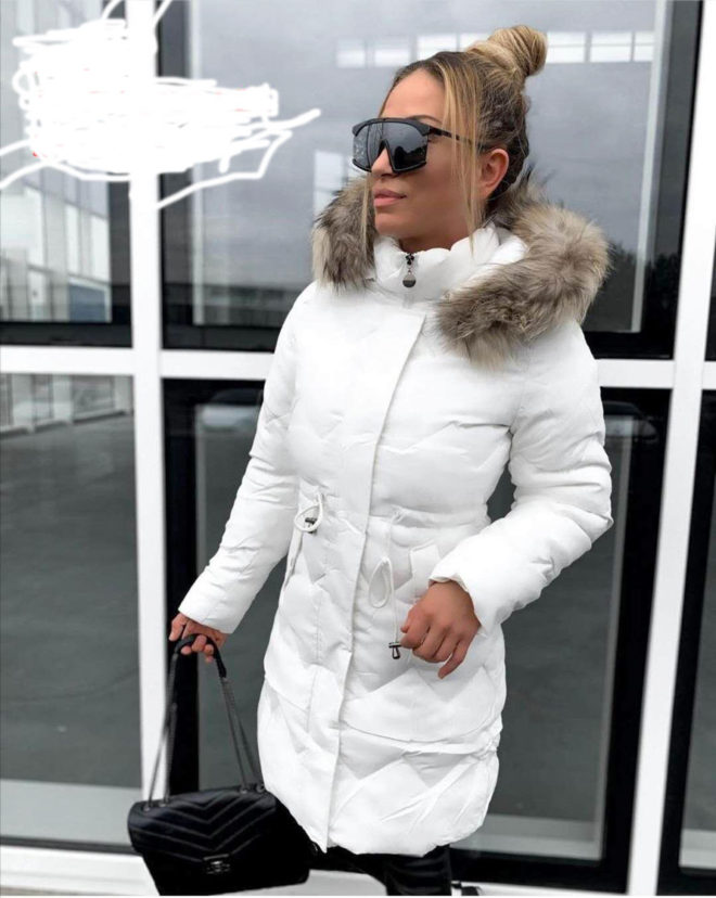 Jacheta De Iarna Cu Capison Si Blanita